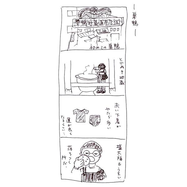 【さとしの観察日誌】巣鴨