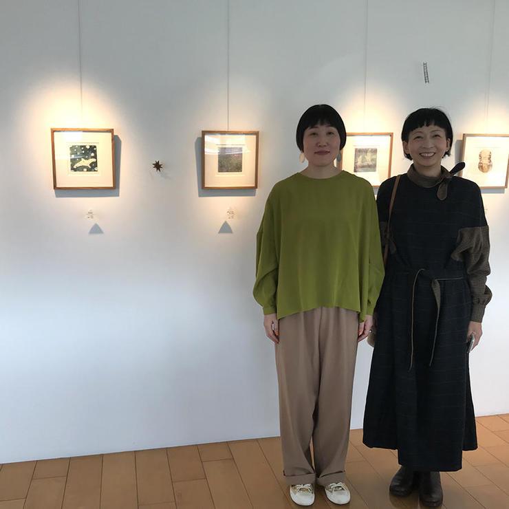 堀田恵理銅版画展 大島絵本館